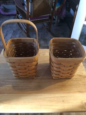 Longaberger baskets for Sale in Pembroke Pines, FL