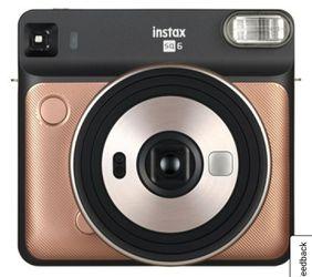 Fujifilm camera -square poloroid for Sale in Hanford,  CA