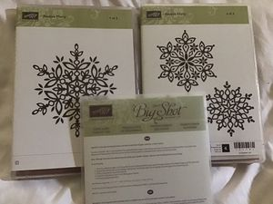 Stampin Up Festive Flurry Bundle for Sale in Tampa, FL