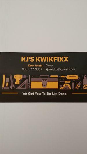 KJ's Kwikfixx for Sale in Winter Haven, FL