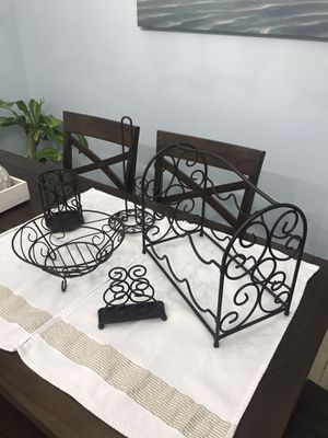 Set of 5 Matching Kitchen Decor Items for Sale in Tampa, FL