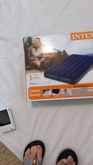 Intex Twin airbed, new in box for Sale in Suffolk, VA