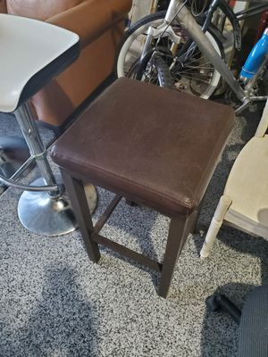FAUX LEATHER BAR STOOL - $8 for Sale in North Las Vegas, NV