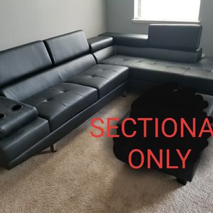Modern Sectional With Adjustable Head Ready-brand New In The Box- Free Delivery for Sale in Atlanta, GA