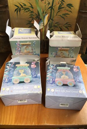 Vintage Enesco Precious Moments Waterdomes for Sale in Westminster, CO