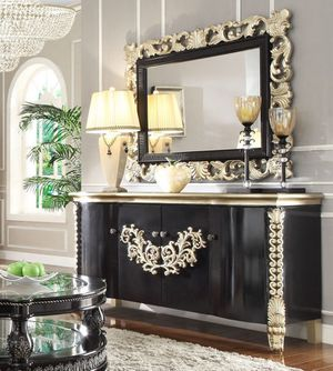Consol table with mirror on sale only at elegant Furniture 🛋🎈 for Sale in Fresno, CA