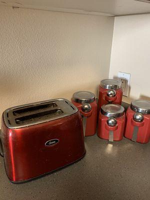 Red kitchen appliances for Sale in La Mesa, CA