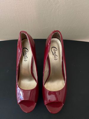 Women's Size 8 Candies Red High Heels for Sale in Aliquippa, PA