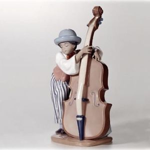 Lladro Figurine- Jazz Bass- #5834- Black Legacy Collection for Sale in Fort Lauderdale, FL