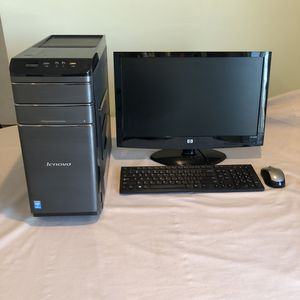 Lenovo computer-i 5 quad core processor-8 gigs ram-1 terabyte hdd for Sale in McHenry, IL