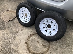 2 trailer/tow dolly tires good condition for Sale in Thomasville, NC