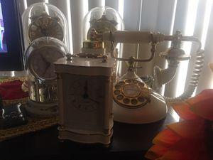 Clocks n antique phone for Sale in San Diego, CA