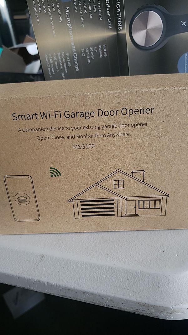 meross Smart Wi-Fi Garage Door Opener Remote, APP Control, Compatible With  Alexa, Google for Sale in Riverside, CA - OfferUp