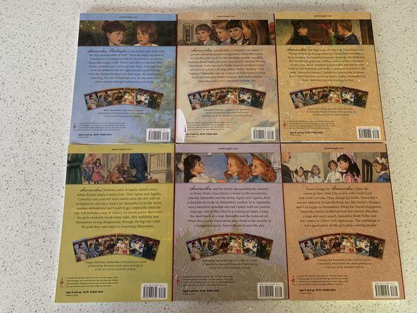 American Girl Samantha book set