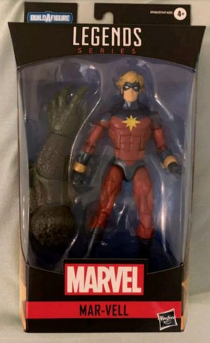Marvel Legends Mar-Vell Collectible Action Figure Toy with Abomination Build a Figure Piece for Sale in Chicago, IL