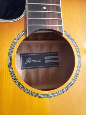 Ibanez aeg18lii cutaway left-handed acoustic electric guitar for Sale in Sanger, CA