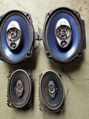 Pioneer speakers 4pcs for Sale in Oceanside, CA