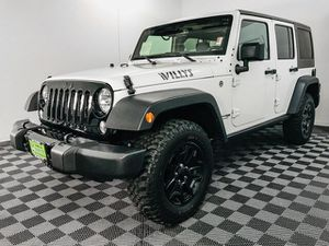 2018 Jeep Wrangler JK Unlimited for Sale in Tacoma, WA