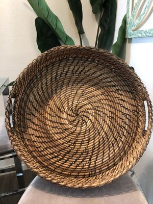 Large Basket Tray for Sale in San Diego, CA