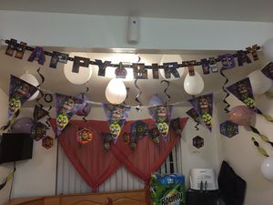 Five nights at Freddy's party decorations for Sale in Riverside, CA