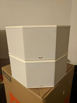 Klipsch Synergy SS1 Surround Speakers (White) for Sale in Gilbert, AZ