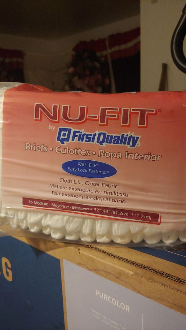 Free Adult Diapers (briefs)