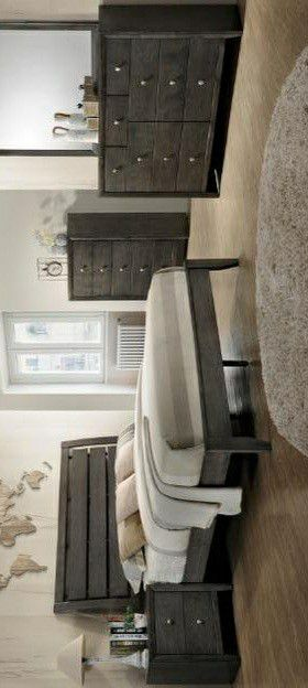🍃the price is nice🍃Evan Gray Panel Bedroom Set for Sale in Columbia, MD