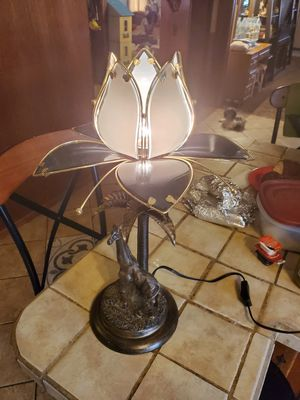 Beautiful vintage unique giraffe lamp for Sale in Oklahoma City, OK