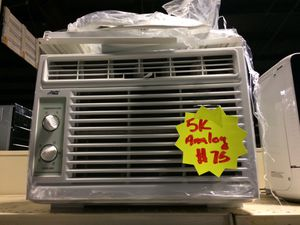 5,000BTU Analog window AC unit with warranty for Sale in Pineville, NC