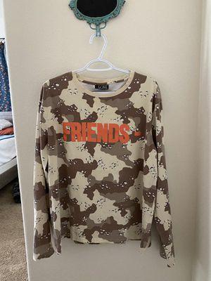 Vlone Friends Desert Camo Long Sleeve Shirt for Sale in Humble, TX