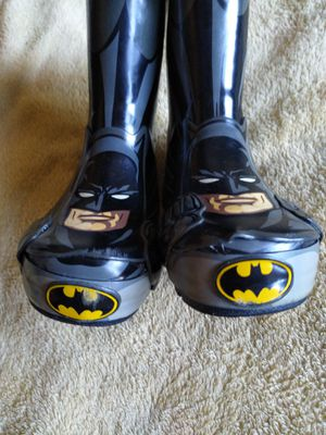 Batman rainboots for Sale in Spring Valley, CA