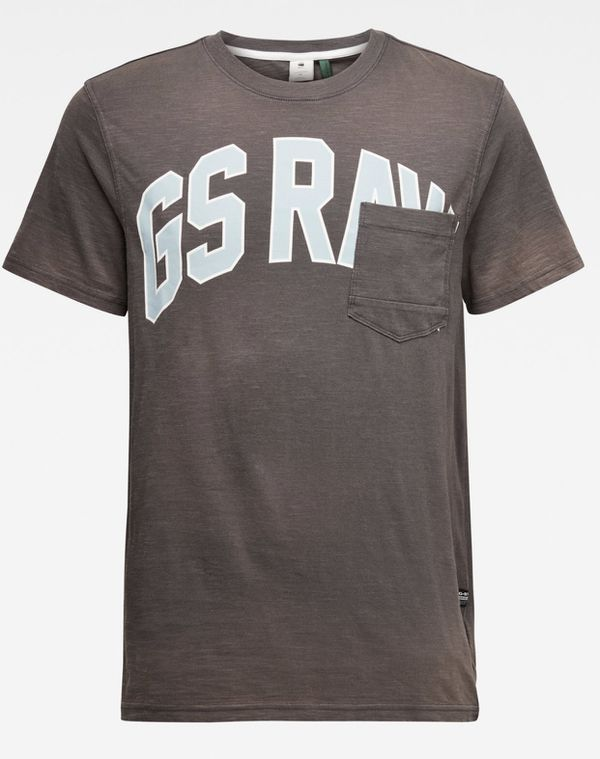 G-Star RAW Men Printed Cotton Blend Tee T Shirt Short Sleeve Black Size L NEW Very Rare. Brand New. Ships same day.