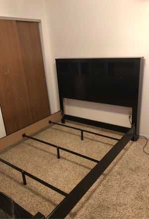 Queen Size Headboard and bed frame for Sale in Florissant, MO