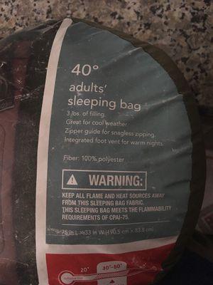 40 Degree Embark Sleeping Bag for Sale in South Salt Lake, UT