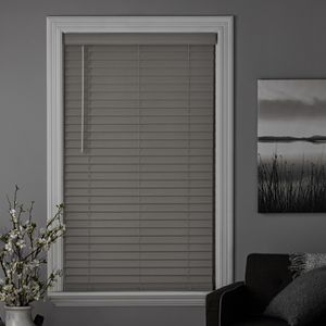 Better Homes & Gardens 2-inch Cordless Faux Wood Blinds, Rustic Gray,SET OF 2 31x64 for Sale in Houston, TX