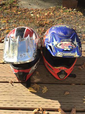 Dirt bike / Motocross helmets size small for Sale in Gig Harbor, WA