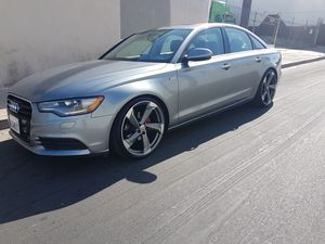 Audi a6 2013 salvage only seriuos buyers 2.0 turbo for Sale in Los Angeles, CA