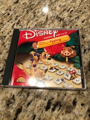 Disney typing PC game for Sale in Charlotte, NC