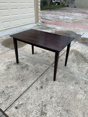 Dark wood dining or kitchen table for Sale in Queens, NY