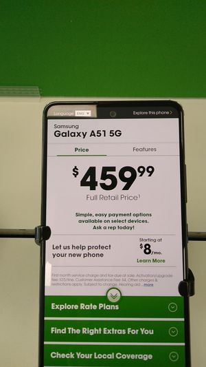 Samsung Galaxy A51 5G for Sale in San Angelo, TX