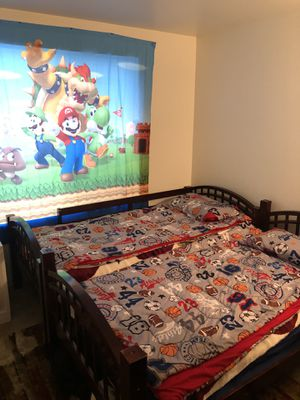 Twin over twin bed mattress not included for Sale in Beaverton, OR