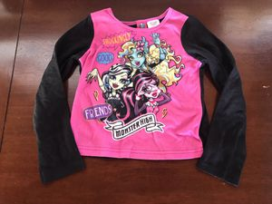 Monster High Long Sleeve Shirt Size 6l/6X for Sale in East Brunswick, NJ