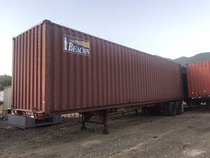40' STORAGE CONTAINERS for Sale in San Bernardino, CA