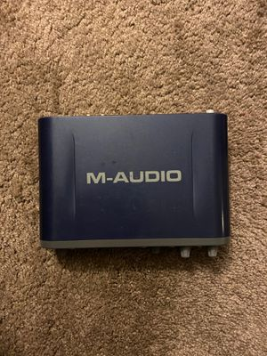 M Audio Fast track pro audio interface for Sale in Whittier, CA