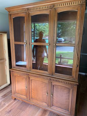 Antique Wood Hutch for Sale in Morrison, CO