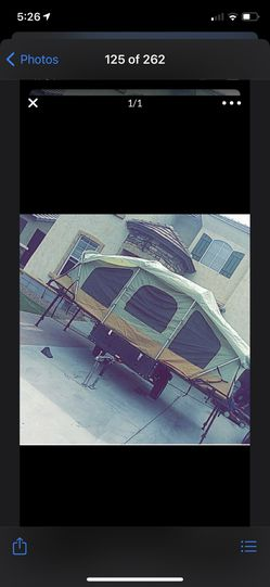 Life time Pop-up tent and trailer for Sale in Apache Junction,  AZ