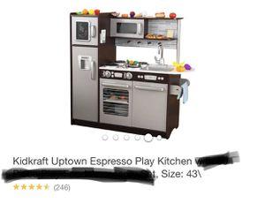 Kidkraft Uptown Espresso Play Kitchen for Sale in Kissimmee, FL
