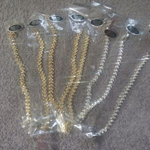 Silver or gold Crystal s tennis bracelet for Sale in Columbus, OH
