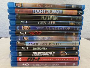 Action Suspense Thriller Blu Ray Lot for Sale in Fresno, CA