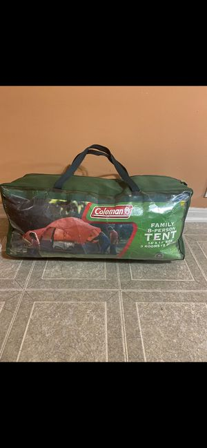 Coleman 8-person family Tent for Sale in Shelby Charter Township, MI